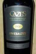 Collection Cazes - Rivesaltes 1933