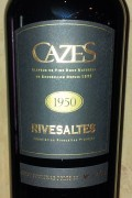 Collection Cazes - Rivesaltes 1934