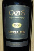 Collection Cazes - Rivesaltes 1948