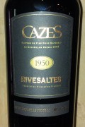 Collection Cazes - Rivesaltes 1950