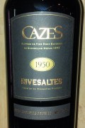 Collection Cazes - Rivesaltes 1951