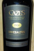 Collection Cazes - Rivesaltes 1952