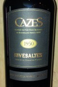 Collection Cazes - Rivesaltes 1953