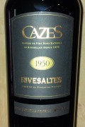 Collection Cazes - Rivesaltes 1954