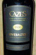 Collection Cazes - Rivesaltes 1955