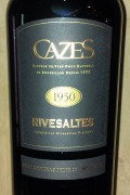 Collection Cazes - Rivesaltes 1956
