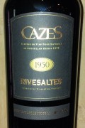 Collection Cazes - Rivesaltes 1957