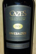 Collection Cazes - Rivesaltes 1958