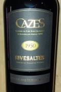 Collection Cazes - Rivesaltes 1949